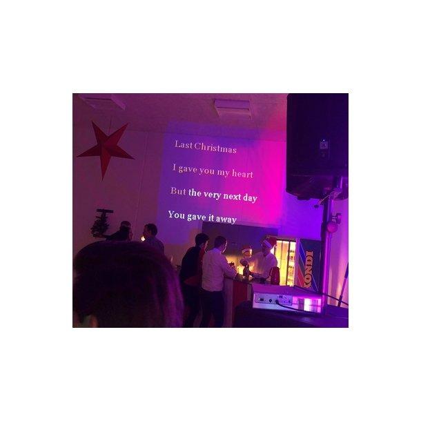 Firmafest med mega Karaoke & Jukebox